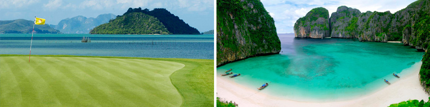 9 day Phuket Thailand Golf Tour