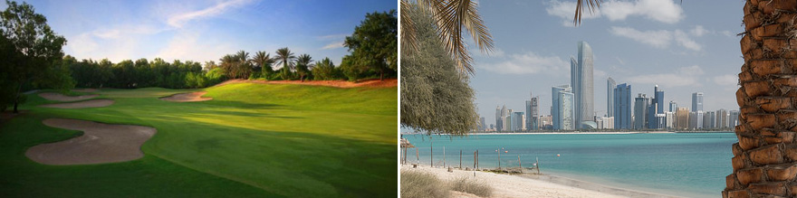8 Day Abu Dhabi Golf Package