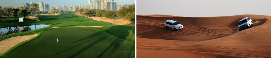 8 Day Dubai Golf Package